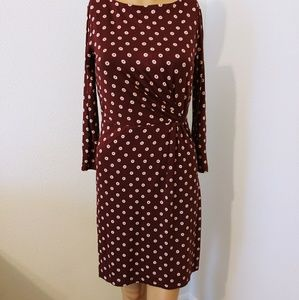 EUC Loft Long Sleeve Dress